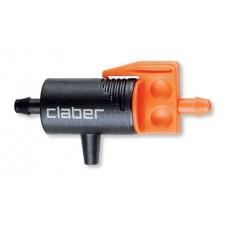 Gocciolatore in linea da 0-6 l/h passante Claber