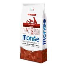 Monge Speciality Line All Breed Agnello Adult Kg 12