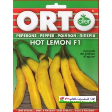 Peperoncino piccante Hot Lemon bustina semi